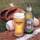 1996 Heineken Beer The Taste of Victory 1996 Magazine Ad Advert Baseball