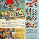 1967 Ad Matchbox City Vintage 1967 Toy Advertisement Gas Station Play City Toy Cars Trucks Ad Advert