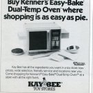 1987 Ad for Easy-Bake Oven Kay-Bee Toy Stores Magazine Ad Advertisement Advert Kenner