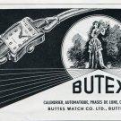 1952 Butex Watch Company Buttes Watch Company Switzerland 1952 Swiss Ad Suisse Advert Schweiz