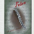 1947 Felca Watch Company Switzerland Vintage 1947 Swiss Ad Advert Suisse Schweiz Suiza