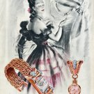 1947 Eska Watch Company Grenchen Switzerland Vintage 1947 Swiss Ad Advert Suisse Suiza Schweiz