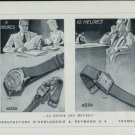 1947 Arsa Watch Company A. Reymond S.A. Tramelan Switzerland Vintage 1947 Swiss Ad Advert Suisse
