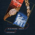 1946 Rivo Watch Company Richard Vogt Switzerland Vintage 1946 Swiss Ad Advert Suisse Schweiz Suiza
