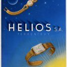 1946 Helios Watch Company Porruntruy Switzerland Vintage 1946 Swiss Ad Advert Suisse Suiza Schweiz