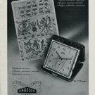 1946 Angelus Clock Company Switzerland Vintage 1946 Swiss Ad Advert Suisse Suiza Schweiz