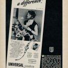 1953 Universal Geneve Watch Company Switzerland Vintage 1953 Swiss Ad Advert Suisse Schweiz Suiza