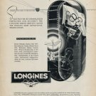 1953 Longines Watch Company Olympics Vintage 1953 Swiss Ad Advert Suisse Schweiz Switzerland Suiza