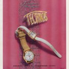 1952 Technos Watch Company Gunzinger Freres Switzerland Vintage 1952 Swiss Ad Advert Suiza Suisse