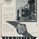 1952 Marvin Watch Company Marvin S.A. Switzerland Vintage 1952 Swiss Ad Advert Suisse Suiza Schweiz