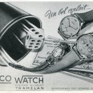 1946 Repco Watch Company Pierre Nicolet SA Switzerland Vintage 1946 Swiss Ad Advert Suisse Schweiz