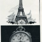 1953 Excelsior Park Watch Company St-Imier Switzerland Vintage 1953 Swiss Ad Advert Suisse Schweiz