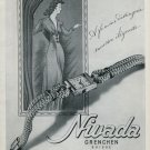 1946 Nivada Watch Company Grenchen Switzerland Vintage 1946 Swiss Ad Advert Suisse Schweiz Suiza