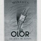 1948 Olor Watch Company Montres Olor Switzerland Vintage 1948 Swiss Ad Advert Suisse Schweiz
