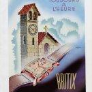 1948 Britix Watch Company S.A. Switzerland Vintage 1948 Swiss Ad Advert Suisse Schweiz Suiza