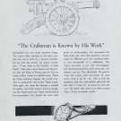1948 Tissot Watch Company The Craftsman is Known by His Work 1948 Swiss Ad Advert Suiza Suisse