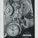 1948 Enicar S.A. Clock Company Vintage 1948 Swiss Ad Advert Suisse Schweiz Suiza Switzerland