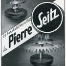 1947 Pierre Seitz Bergeon & Cie Ad Advert Switzerland Vintage 1947 Swiss Magazine Ad Print Ad