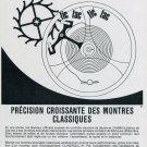 1969 Clinergic 21 Ad Advert Les Fabriques d'Assortiments Reunies Swiss Ad Advert Print Ad