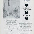Leon Charpilloz SA Switzerland Vintage 1969 Swiss Magazine Ad Advert Suisse Horology 1960's