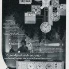 1969 Ebauches SA Oscilloquartz Ad Advert Vintage Swiss Magazine Print Ad Suisse Horology