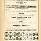 1948 F Witschi Switzerland Vintage Swiss Magazine Print Ad Advert Suisse Horology WIT 1940's