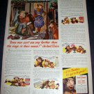 Original 1945 Borden's Elsie the Cow Elmer the Bull Vintage 1940's Borden Company Dairy Ad Advert