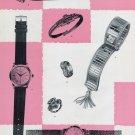 Vintage 1956 Exposition Montres et Bijoux Omega Breitling Jaeger-LeCoultre Rolex Swiss Switzerland