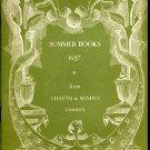 Original 1937 Chatto & Windus London Book Company William Faulkner HG Wells 1930's