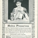 Original 1905 Heinz Preserves H.J. Heinz Co Pittsburgh Vintage Early 1900's Print Ad Advert