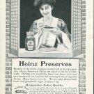 Original 1905 Heinz Preserves H.J. Heinz Co Pittsburgh Vintage Early 1900's Print Ad Advert