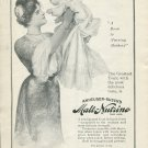 Original 1905 Anheuser-Busch Brewing Association Nursing Mothers Early 1900's Print Ad Advert