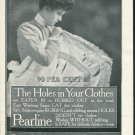 Original 1905 Pearline Laundry Soap Early 1900s Print Ad Vintage Advertisement