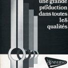 1976 Universo SA La Chaux-de-Fonds Original 1970's Swiss Print Ad Publicite Suisse Horology