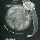 Vintage 1948 Societe Horlogere Reconvilier 1940's Swiss Print Ad Publicite Suisse Montres