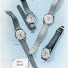 Original 1949 Langendorf Watch Company Lanco Lancyl Switzerland Swiss Print Ad Publicite Suisse
