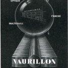 1949 Vaurillon Geneve Switzerland 1940's Swiss Print Ad Advert Publicite Suisse Publicite Suiza