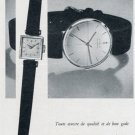 Vintage 1956 Corum Watch Company Ries Bannwart & Co Switzerland Swiss Print Ad Publicite Suisse