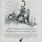 Longines 1945 Neuchatel Observatory Record Original 1946 Swiss Print Ad Publicite Suisse Montres