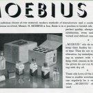 1940 Moebius Oils Ad Swiss Print Ad Advert Publicite Suisse H Moebius & Son Horology
