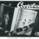 1945 Cortebert Watch Company A Cuanillon & Co 1940's Swiss Ad Advert Publicite Suisse Montres