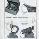 1946 Bergeon & Cie Switzerland 1940's Swiss Ad Advert Publicite Suisse Schweiz Horology