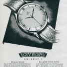 1945 Omega Watch Company Gameo SA Original 1940's Swiss Print Ad Publicite Suisse Scgweiz Montres