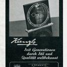 1945 Kienzle H Grimm & Co Clock Co Swiss Print Ad Publicite Suisse Schweiz