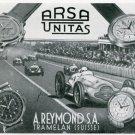 1939 A. Reymond S.A. Arsa Unitas Watch Company Swiss Print Ad Publicite Suisse Montres