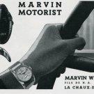 1939 Marvin Watch Company Fils de H. A. Didisheim Swiss Print Ad Publicite Suisse Montres