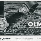 1939 Olma Numa Jeanin S.A. Watch Company Switzerland Swiss Print Ad Publicite Suisse Montres