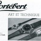 1939 Cortebert La Chaux-de-Fonds Switzerland 1930's Swiss Print Ad Publicite Suisse Montres