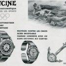Original 1939 Glycine Watch Company Switzerland 1930's Swiss Print Ad Publicite Suisse Mermaid