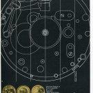 1969 Brac S.A. Breitenbach Swiss Print Ad Publicite Suisse Horlogerie Horology Switzerland